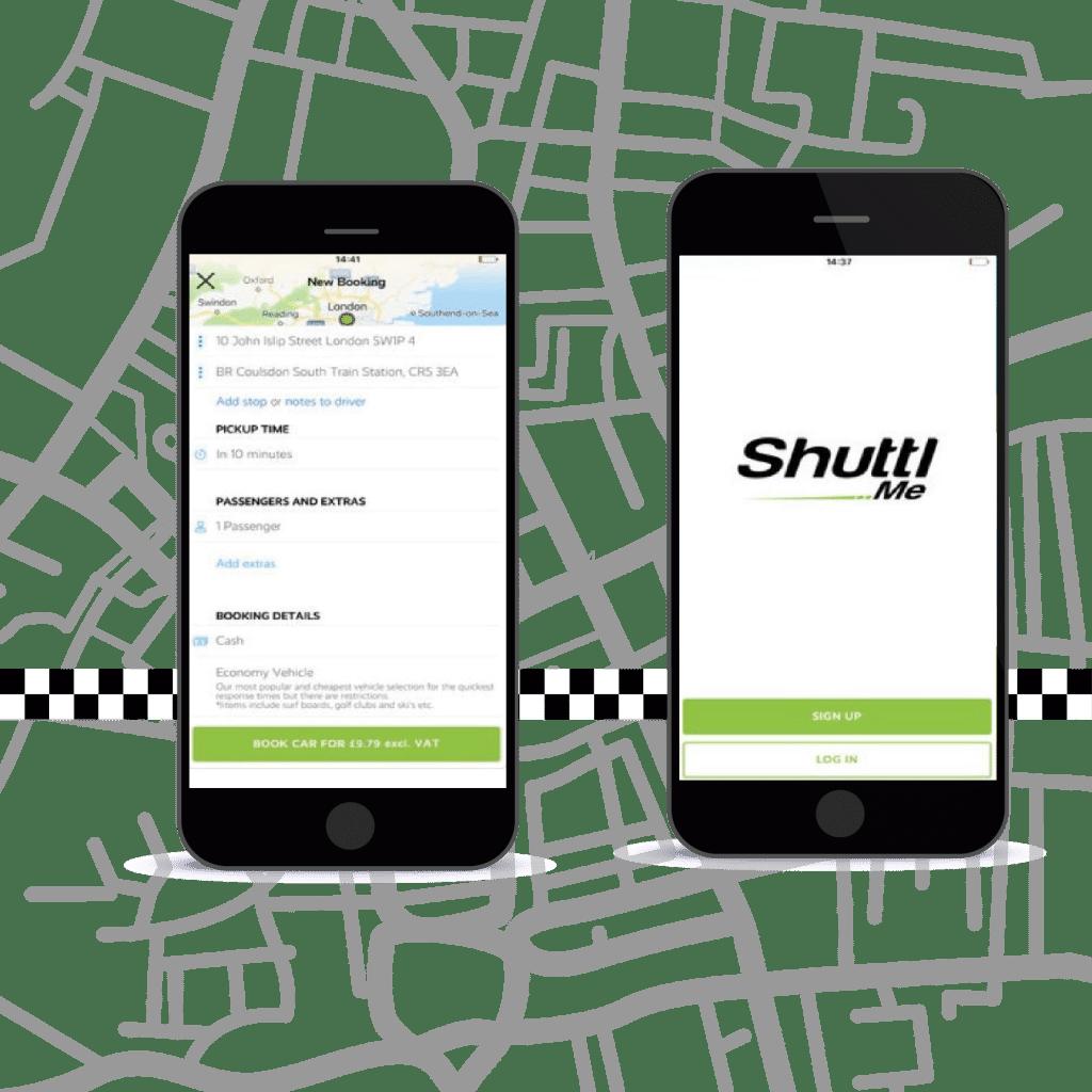 Shuttlme app